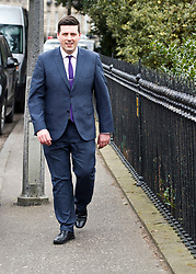 Pictured: Jamie Hepburn<br /> Employability minister Jamie Hepburn headed to Abercromby Place in Edinburgh today to offer comments on latest labour market statistics<br /> <br /> <br /> Ger Harley | EEm 21 March 2018
