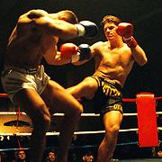 Kickbox boks gala in de Bun Huizen