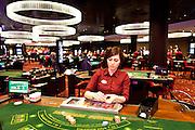 London, Maggio 2012 - Casino Aspers. Il più grande casinò dela Gran Bretagna è già pronto per le imminenti Olimpiadi.