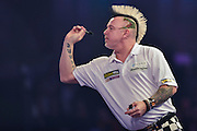 Peter Wright during the William Hill World Darts Championship at Alexandra Palace, London, United Kingdom on 29 December 2016. Photo by Mark Davies.