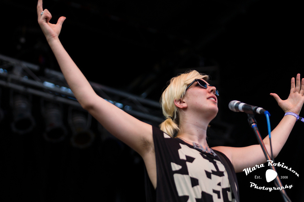 EMA at Pitchfork Music Festival 2011