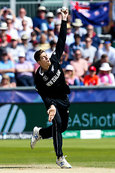Mitchell Santner of New Zealand - Mandatory by-line: Robbie Stephenson/JMP - 03/07/2019 - CRICKET - Emirates Riverside - Chester-le-Street, England - England v New Zealand - ICC Cricket World Cup 2019 - Group Stage