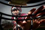 2012 Deseret News Mr. Soccer Austin Kafentzis poses for a portrait on the Jordan High School football field, Wednesday, Nov. 28, 2012.