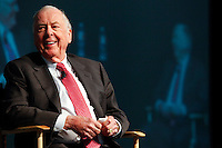 T. Boone Pickens speaks at the 2014 LNG Conference Jan. 22, 2014, in Houston. <br /> <br /> (Eric Kayne/For the Chronicle)