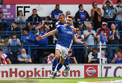 Luke Garbutt of Ipswich Town celebrates scoring to make it 1-0 - Mandatory by-line: Arron Gent/JMP - 10/08/2019 - FOOTBALL - Portman Road - Ipswich, England - Ipswich Town v Sunderland - Sky Bet League One