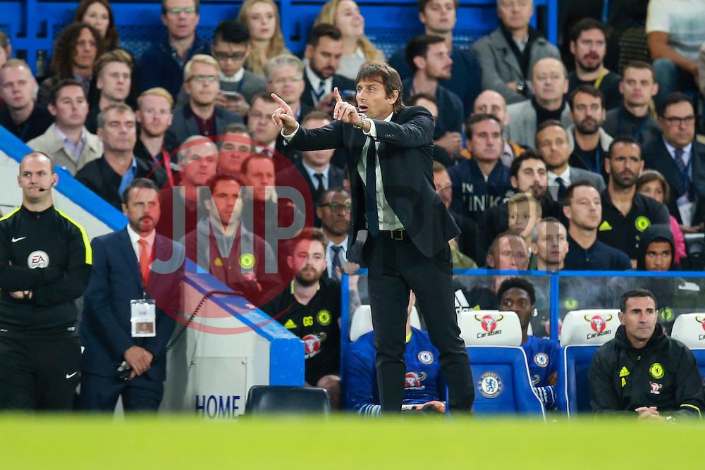 Chelsea manager Antonio Conte - Mandatory by-line: Jason Brown/JMP - 16/09/2016 - FOOTBALL - Stamford Bridge - London, England - Chelsea v Liverpool - Premier League