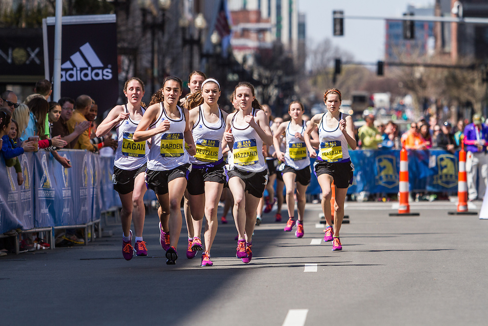 Boston Marathon: BAA Scholastic Mile, girls