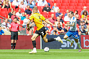 Tranmere Rovers midfielder James Norwood (10) heads upfield during the EFL Sky Bet League 2 Play Off Final match between Newport County and Tranmere Rovers at Wembley Stadium, London, England on 25 May 2019.