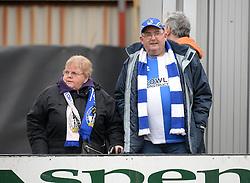 Bristol Rovers fans. - Mandatory byline: Alex James/JMP - 19/03/2016 - FOOTBALL - Rodney Parade - Newport, England - Newport County v Bristol Rovers - Sky Bet League Two