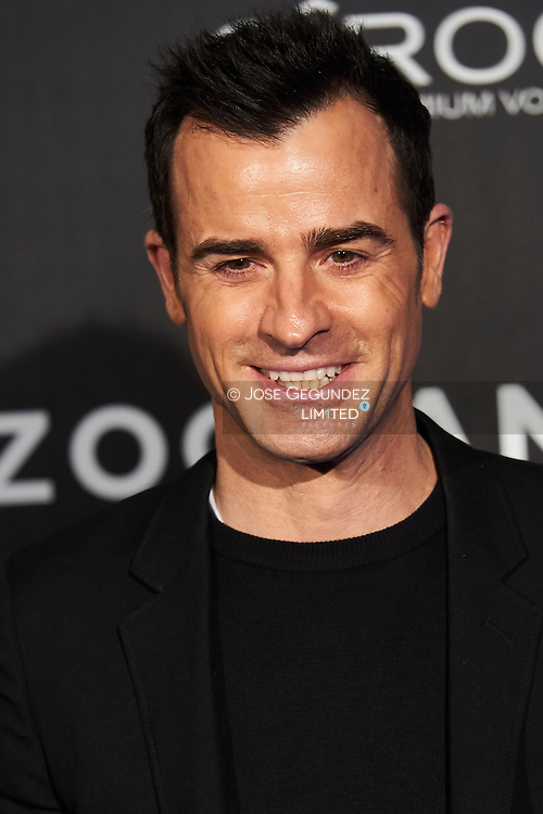 Justin Theroux attend 'Zoolander No. 2' film premiere at Capitol Cinema on February 1, 2016 in Madrid, Spain