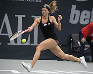 Camila Giorgi (ITA) on Day Three of the WTA Generali Ladies Linz Open at TipsArena, Linz<br /> Picture by EXPA Pictures/Focus Images Ltd 07814482222<br /> 12/10/2016<br /> *** UK & IRELAND ONLY ***<br /> <br /> EXPA-REI-161012-5007.jpg