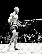 Bantamweight TJ Dillashaw claims the bantamweight title at UFC 173.