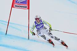 08.01.2011, Kaelberloch, Zauchensee, AUT, FIS World Cup Ski Alpin, Ladies, Abfahrt, Bild zeigt Isabelle Stiepel (GER), EXPA Pictures © 2011, PhotoCredit: EXPA/ S. Zangrando