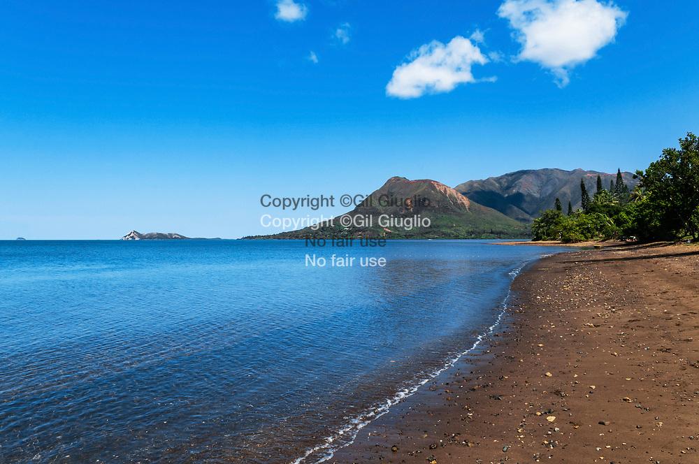 Nouvelle Calédonie, Grande Terre, Province Sud, plage de Carcassonne // New Caledonia, French Pacific territory, Grande Terre, Province Sud, beach of Carcassonne