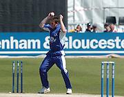2005 G&G, Sussex vs Nottingham at Hove, ENGLAND, 15.05.2005, Notts batting. James kirtley.Photo  Peter Spurrier. .email images@intersport-images...