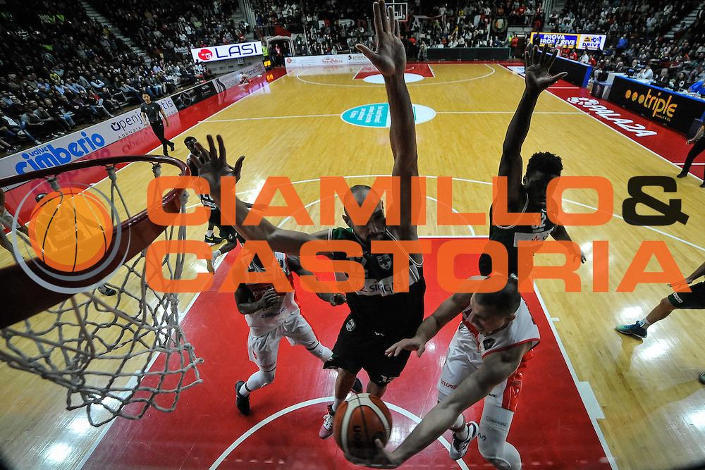 Avramovic Aleksa<br /> Openjobmetis Varese - Sidigas Avellino<br /> Basket Fiba Champions 2016/2017<br /> Desio 06/11/2016<br /> Foto Ciamillo-Castoria