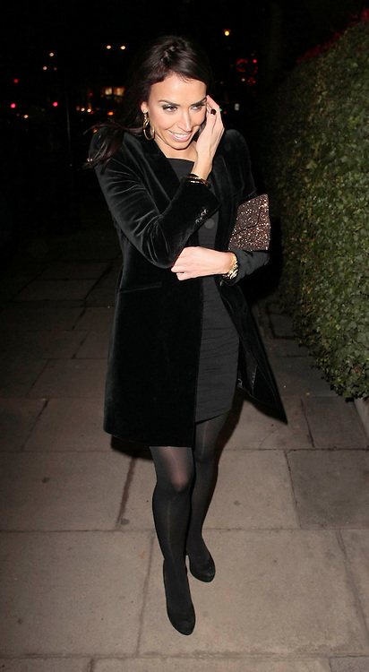 08.DECEMBER.2010. LONDON<br /> <br /> CHRISTINE BLEAKLEY ARRIVING AT THE MANDARIN HOTEL IN KNIGHTSBRIDGE FOR PIERS MORGAN'S LAUNCH PARTY FOR HIS NEW TV SHOW ON CNN.<br /> <br /> BYLINE: EDBIMAGEARCHIVE.COM<br /> <br /> *THIS IMAGE IS STRICTLY FOR UK NEWSPAPERS AND MAGAZINES ONLY*<br /> *FOR WORLD WIDE SALES AND WEB USE PLEASE CONTACT EDBIMAGEARCHIVE - 0208 954 5968*