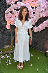 Jasmine Hemsley at the Warner Music Group and British GQ Summer Party in partnership with Quintessentially held at Nobu Shoreditch, Willow StreetLondon England. 5 July 2017.<br /> Photo by Dominic O'Neill/SilverHub 0203 174 1069 sales@silverhubmedia.com