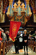"A procession of judges, law school professors and members of the Catholic Lawyers Guild opens the 78th Annual Votive Mass of the Holy Spirit, or ""Red Mass"" celebrated at Holy Name Cathedral in Chicago. September 30, 2012 l Brian J. Morowczynski~ViaPhotos..For use in a single edition of Catholic New World Publications, Archdiocese of Chicago. Further use and/or distribution may be negotiated separately. Contact ViaPhotos at 708-602-0449 or email brian@viaphotos.com."