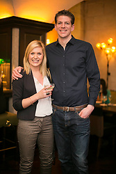 No fee for Repro 27/06/2013 <br /> Kathryn Ryan and Frank Mills are pictured at the relaunch of The Mint Bar at The Westin Dublin. Dublin&rsquo;s hottest cocktail bar, The Mint Bar is redefining Dublin&rsquo;s cocktail culture. Picture Andres Poveda