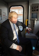 DEC 11 2014 Boris visits London Underground Train Factory