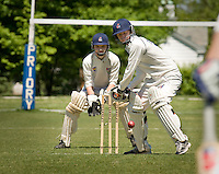 LISA JOHNSTON | lisa@aeternus.com   The original members of the Priory Amateur Cricket Association (left to right) Coach, Alan Johnston, Gagan Mandava, Cole Wagner, Michael Clark, captain & founder Aidan Johnston, founder Fr. Bede Price, OSB , co-captain and founder Austin Krueger, Michael Fuglsang, Charles Rapp, Mark McAuliff, Michael Ricci, Shravan Atluri (missing Siva Myla).