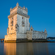 LISBON, Portugal -- Built on a small island near the banks of the Tagus River just to the southwest of downtown Lisbon, the Tower of Belem (or Torre de Belém) dates to 1514-1520. It was part of a defensive network protecting shipping to Lisbon port and beyond during Portugal's Age of Discovery. Paired with the nearby Jerónimos Monastery it is listed as a UNESCO World Heritage Site.