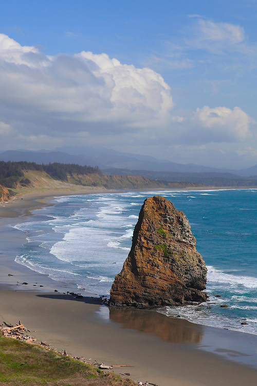 Cape Blanco Pinnacle Rock- Oregon Coast