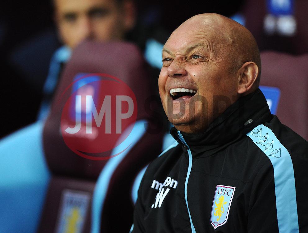 Ray Wilkins  - Mandatory byline: Joe Meredith/JMP - 07966386802 - 25/08/2015 - FOOTBALL - Villa Park -Birmingham,England - Aston Villa v Notts County - Capital One Cup - Second Round