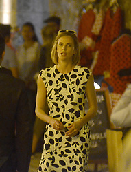 EXCLUSIVE: The actress Charlize Theron is seen during the filming of the movie 'Flarsky' in the city of Cartagena on January 26, 2018 in Cartagena de Indias, Colombia. 26 Jan 2018 Pictured: Charlize Theron. Photo credit: ElHeraldo / MEGA TheMegaAgency.com +1 888 505 6342