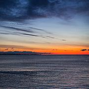 Today's  winter sunrise at Narragansett Town Beach,  .  March  16, 2013.