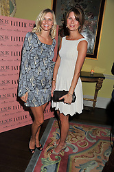 Left to right, MALIN JEFFERIES and GABRIELLA PEACOCK at Tatler's Jubilee Party in association with Thomas Pink held at The Ritz, Piccadilly, London on 2nd May 2012.