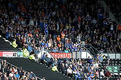 Ipswich Town fans  - Photo mandatory by-line: Dougie Allward/JMP - Mobile: 07966 386802 30/08/2014 - SPORT - FOOTBALL - Derby - iPro Stadium - Derby County v Ipswich Town - Sky Bet Championship
