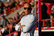 Exeter City manager Paul Tisdale during the EFL Sky Bet League 2 match between Exeter City and Lincoln City at St James' Park, Exeter, England on 17 May 2018. Picture by Graham Hunt.