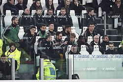 March 8, 2019 - Turin, Italy - Juventus team wait on the bench during the Serie A football match n.27 JUVENTUS - UDINESE on 08/03/2019 at the Allianz Stadium in Turin, Italy. (Credit Image: © Matteo Bottanelli/NurPhoto via ZUMA Press)