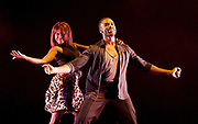 Strictly Come Dancing star Ore Oduba reveals wife Portia is pregnant with their first child in cute Instagram announcement<br /> <br /> <br /> Gala for Grenfell<br /> imagined &amp; directed by Arlene Phillips <br /> at the Adelphi Theatre, London, Great Britain <br /> 30th July 2017 <br /> <br /> Ore Oduba and Oti Mabuse <br /> Happy <br /> <br /> <br /> <br /> Photograph by Elliott Franks <br /> Image licensed to Elliott Franks Photography Services