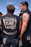 Members of the Rumble Cats. Viva Las Vegas weekend. 2002