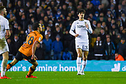 Leeds United defender Pascal Struijk (34) during the EFL Sky Bet Championship match between Leeds United and Hull City at Elland Road, Leeds, England on 10 December 2019.