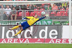 17.09.2011, easy Credit Stadion, Nuernberg, GER, 1.FBL, 1. FC Nürnberg / Nuernberg vs SV Werder Bremen, im Bild:.PArade Tim Wiese (Bremen #1).// during the Match GER, 1.FBL, 1. FC Nürnberg / Nuernberg vs SV Werder Bremen on 2011/09/17, easy Credit Stadion, Nuernberg, Germany..EXPA Pictures © 2011, PhotoCredit: EXPA/ nph/  Will       ****** out of GER / CRO  / BEL ******