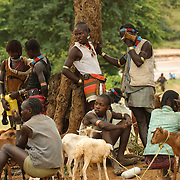 Turmi Tribe, Dimeka, Omo River Valley, South Ethiopia, Africa