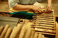 CIGAR FACTORY IN THE DOMINICAN REPUBLIC