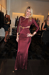 MEREDITH OSTROM at a party hosted by Roberto Cavalli to celebrate his new Boutiques's opening at 22 Sloane Street, London followed by a party at Battersea Power Station, London SW8 on 17th September 2011.