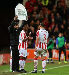 Saido Berahino of Stoke City makes his Stoke City debut - Mandatory by-line: Matt McNulty/JMP - 01/02/2017 - FOOTBALL - Bet365 Stadium - Stoke-on-Trent, England - Stoke City v Everton - Premier League