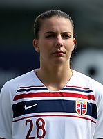 International Women's Friendly Matchs 2019 / <br /> Womens's Algarve Cup Tournament 2019 - <br /> China v Norway 1-3 ( Municipal Stadium - Albufeira,Portugal ) - <br /> Cecilie Kvamme of Norway