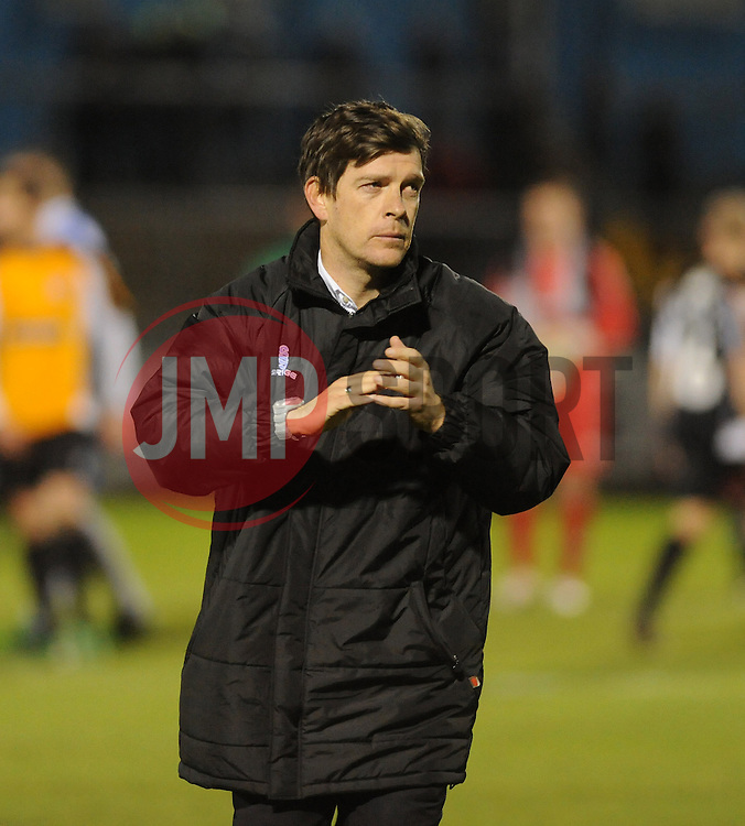 Bristol Rovers Manager, Darrell Clarke - Photo mandatory by-line: Neil Brookman/JMP - Mobile: 07966 386802 - 19/12/2014 - SPORT - football - Bristol - Memorial Stadium - Bristol Rovers v Gateshead  - Vanarama Conference