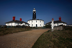 UK ENGLAND DUNGENESS 24MAR12 - The Old Lighthouse, built in 1904  at Dungeness shingle beach on the Kent coast. It is the  largest area of open shingle in Europe, measuring 12 km by 6 km, which has been deposited by the sea and built up over thousands of years.....jre/Photo by Jiri Rezac....© Jiri Rezac 2012