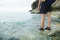 Woman standing at Gulf of Thailand&#xA;<br />