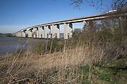 Orwell Bridge, Suffolk, England