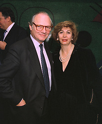 LORD & LADY RENWICK at a concert in London on 29th October 1997.<br /> MCO 8