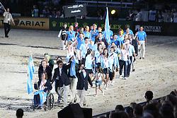 Openingceremony: Team Argentina<br /> World Equestrian Games Lexington - Kentucky 2010<br /> © Dirk Caremans
